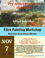 Art - Fibre Paint (Wet felting) Workshop