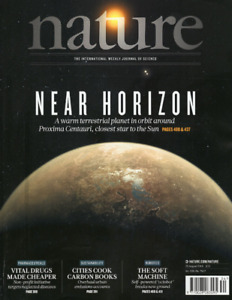 Nature Journal 1-year subscription 2015-2016