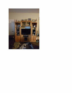3 piece wall unit,