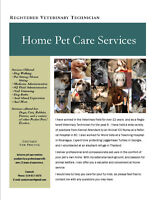 Pet Sitting and Home Pet Care Services