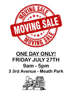 MOVING SALE!! ONE DAY ONLY!