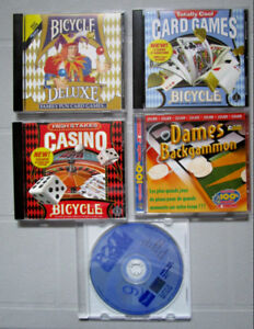 Jeux cd rom Win 95-98