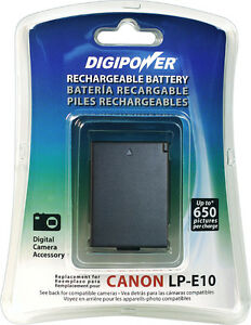 Brand New Digipower BP-LPE10 battery  for Canon LP-E10