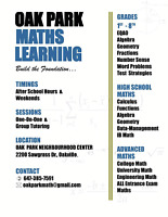 Oakville Maths Tutor