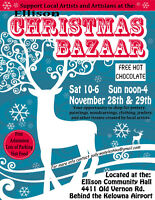 Ellison Christmas Artist and Artisan Bazaar