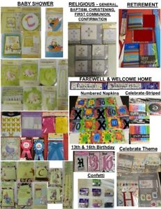 Party Supplies-All New-Various Themes-Pick Any 25 items for $20