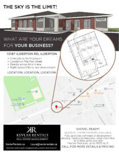 Commercial and Office Space Available - Ilderton