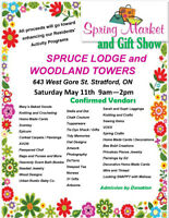 Spruce Lodge and Woodland Towers Spring Market and Gift Show