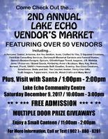2nd Annual Lake Echo Vendor's Market