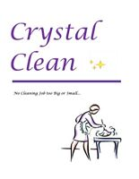 CRYSTAL CLEAN✨Cleaning Service