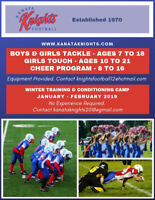 WINTER FOOTBALL CAMP