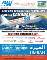Travelling Ticket and Umrah Ticket Provider