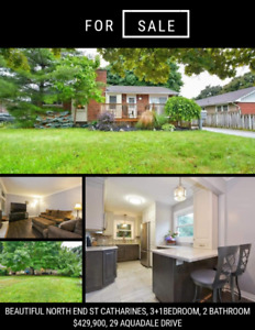 House for Sale North End St Catharines