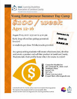 Young Entrepreneur Summer Day Camp