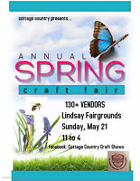 Lindsay Spring Fair Craft Show