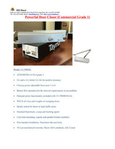 Brand New Door Closer - Taymor