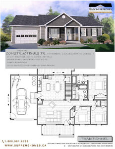 Build this home with garage for $204,900.00 **Supreme Homes**