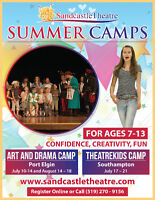 Sandcastle Theatre Summer Camps in Saugeen Shores