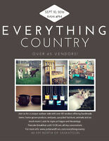 Everything Country - Outdoor market - Over 65 vendors!