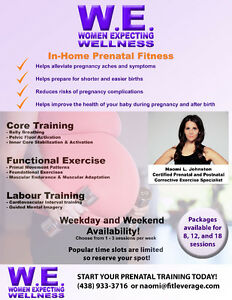 Prenatal Fitness - In-Home or In-Studio Training West Island Greater Montréal image 1