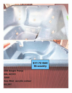 Previously Owned Hot Tub For Sale