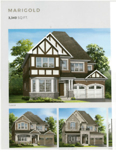 BRAND NEW - Marigold Model Detached Home From Mattamy Homes