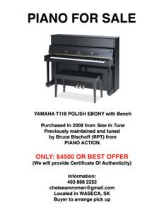 Yamaha Piano T118