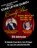 Stand Up For Charity Comedy Show