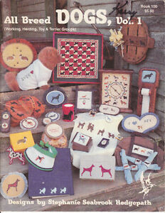 OOP All Breed Dogs Vol 1 & 2 - Cross Stitch Designs