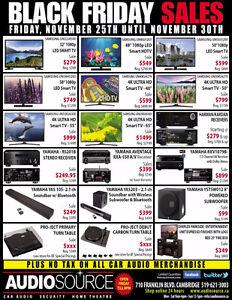 AUDIOSOURCE BLACK FRIDAY SALES ON NOW!!! Kitchener / Waterloo Kitchener Area image 1