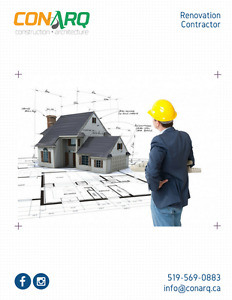 Save on your renovations with CONARQ. Call us today!