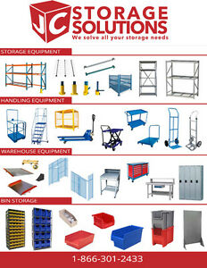 PALLET RACKING, SHELVING, LABOUR, PSR CERTIFICATIONS