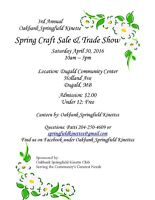 SPRING CRAFT SALE-APRIL 30 PRESENTED BY THE SPRINGFIELD KINETTES