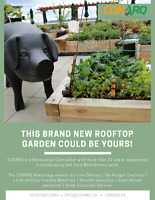 This brand new rooftop garden could be yours! call us today!