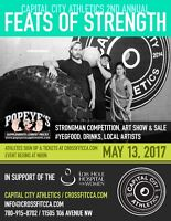 Feats of Strength - Strongmen & Women Supporting Lois Hole Hosp