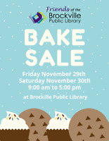 Friends of the Brockville Library Bake Sale