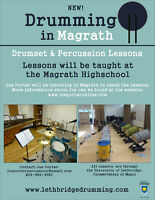 Drum Set and Percussion Lessons in Magrath