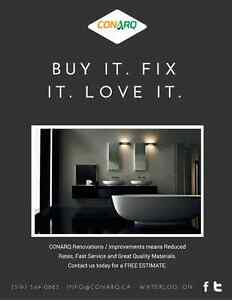 Buy It. Fix It. Love It. Ask for your FREE ESTIMATE today! Cambridge Kitchener Area image 1