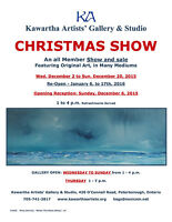 KAGS presents a Christmas Art Show and Sale