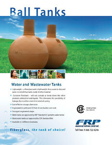 Fiberglass Water Cisterns & Septic Tanks - Available Locally! Regina Regina Area image 5