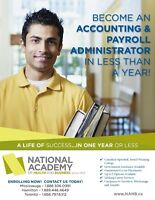 Earn Your Accounting & Payroll Diploma in 10 Months