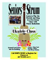 Seniors Strum Uke Class-January