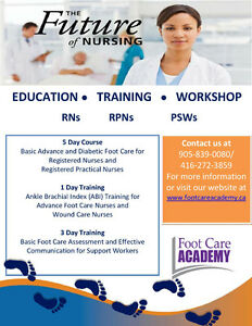 Nursing Foot Care is in DEMAND!! 5 DAY FOOT CARE COURSE Kawartha Lakes Peterborough Area image 2