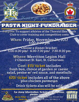 Pasta Night Fundraiser - Fri Nov 24