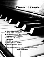 Affordable Music Lessons from a Qualified Instructor