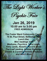 The Light Worker's Psychic Fair