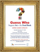 Paintings...food bank fundraiser