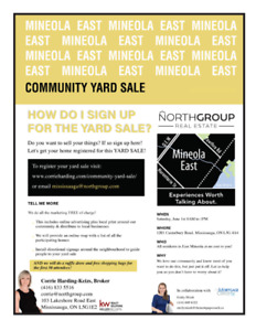 Mineola East Community Yard Sale