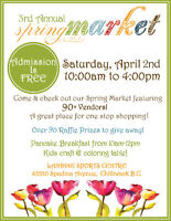 3rd Annual Spring Market