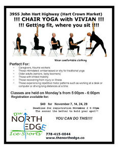 November Classes. $10 a class. Prince George British Columbia image 3